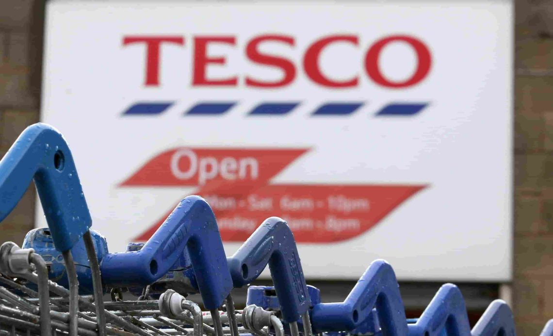 BUSINESS Profits Rise at Tesco Despite Brexit Worries